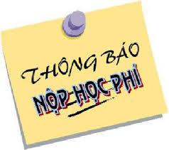 THÔNG BÁO (HỌC PHÍ HK1 NĂM HỌC 2019-2020)